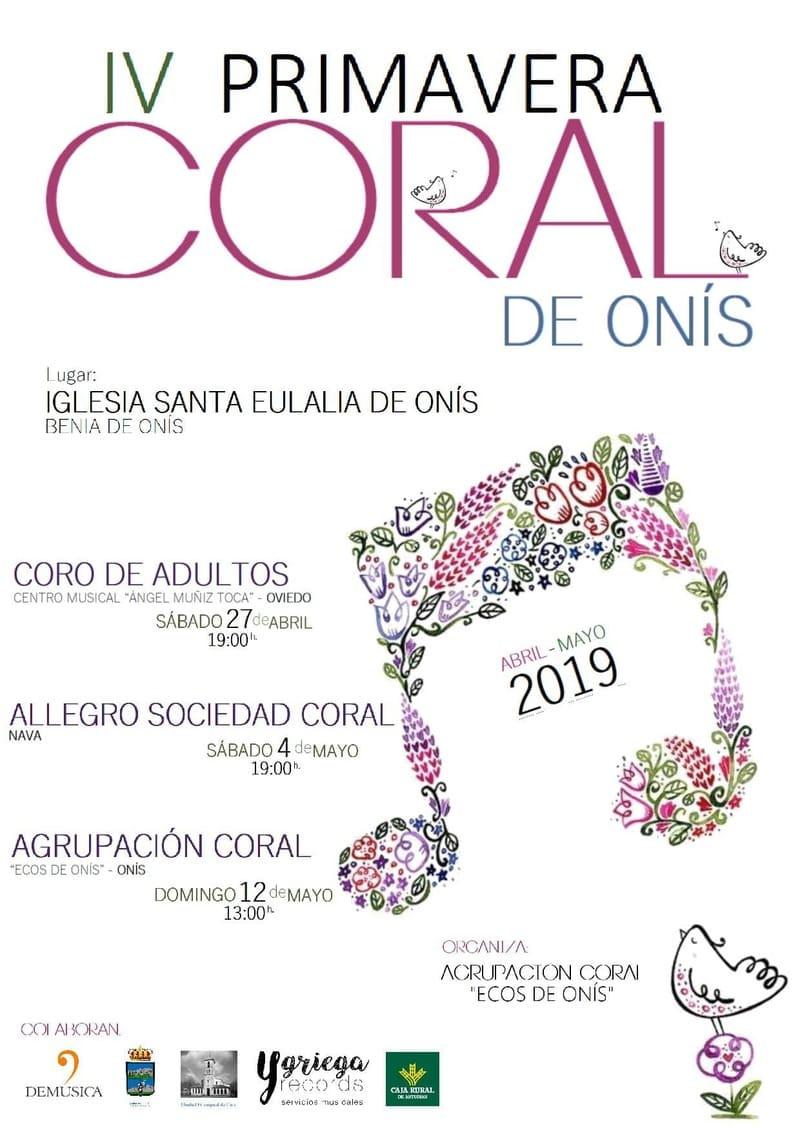 cartel PRIMAVERA CORAL 2019