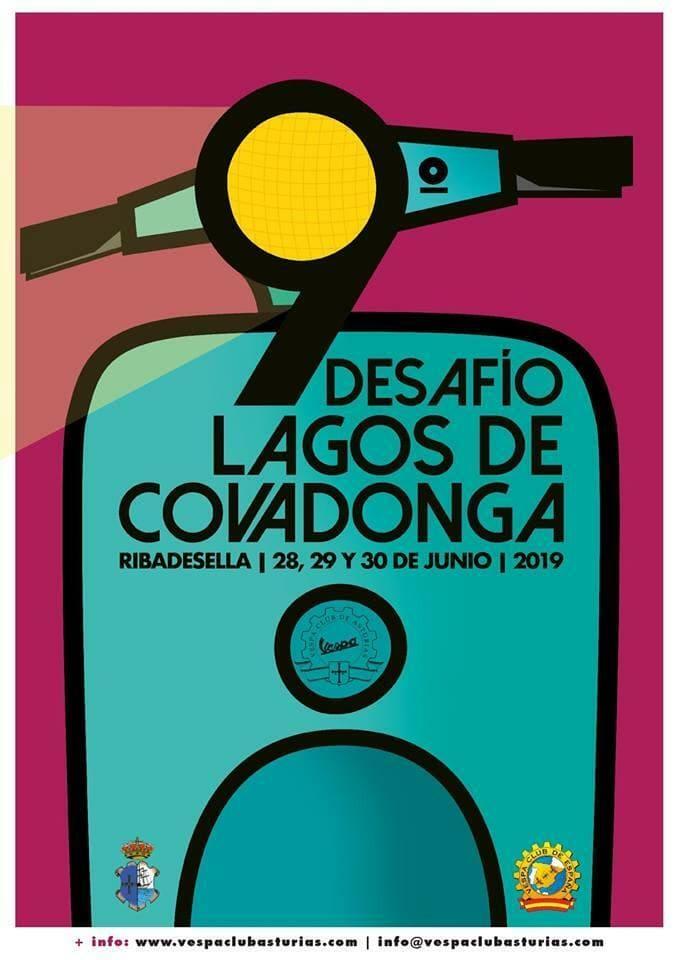 cartel desafio lagos de covadonga 2019
