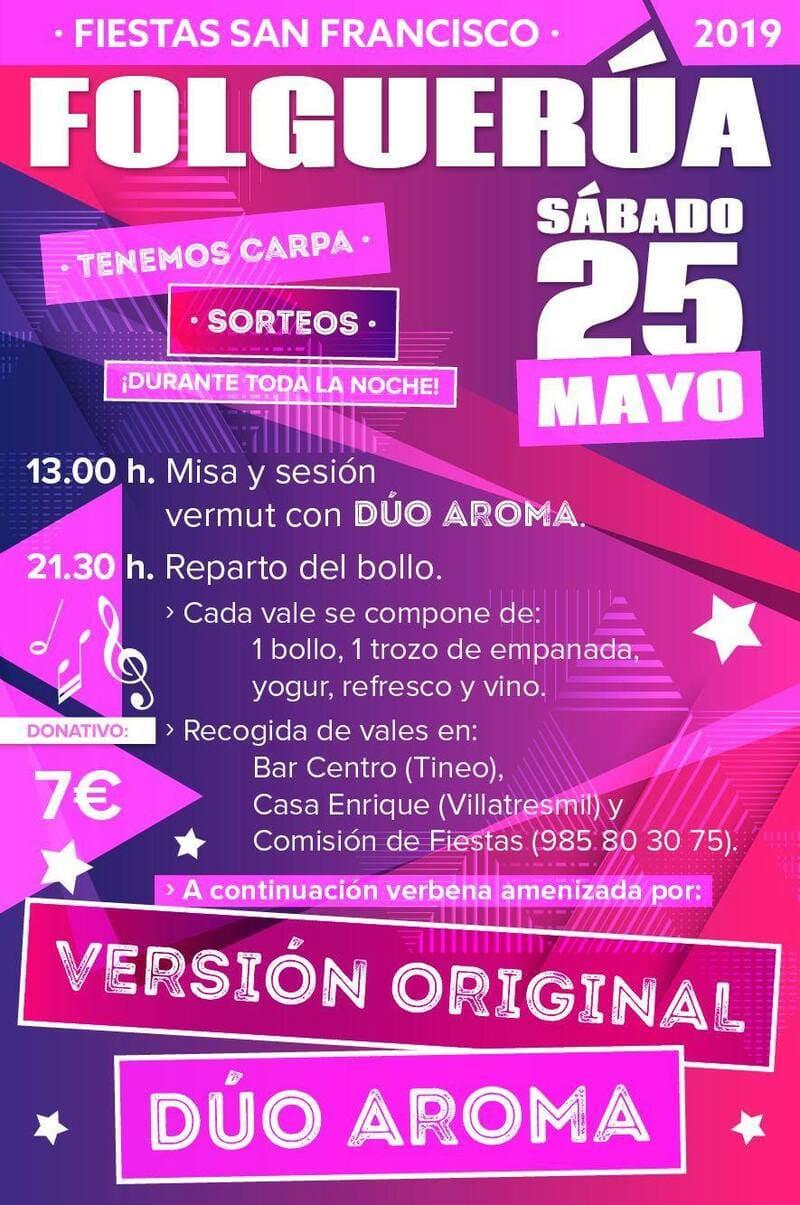 cartel fiestas folguerua 2019