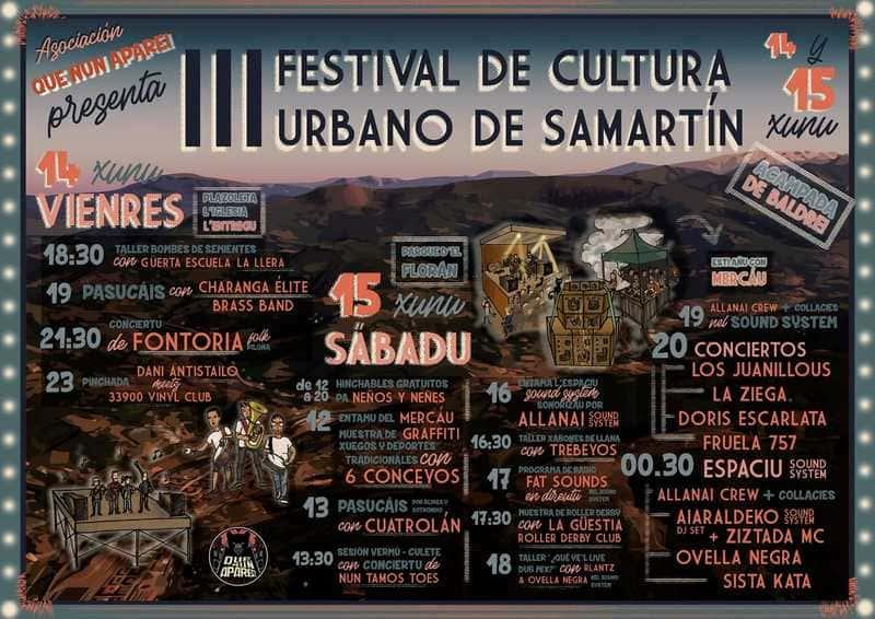 III festival de cultura urbano samartin 2019